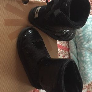Uggs boots for girls size 2
